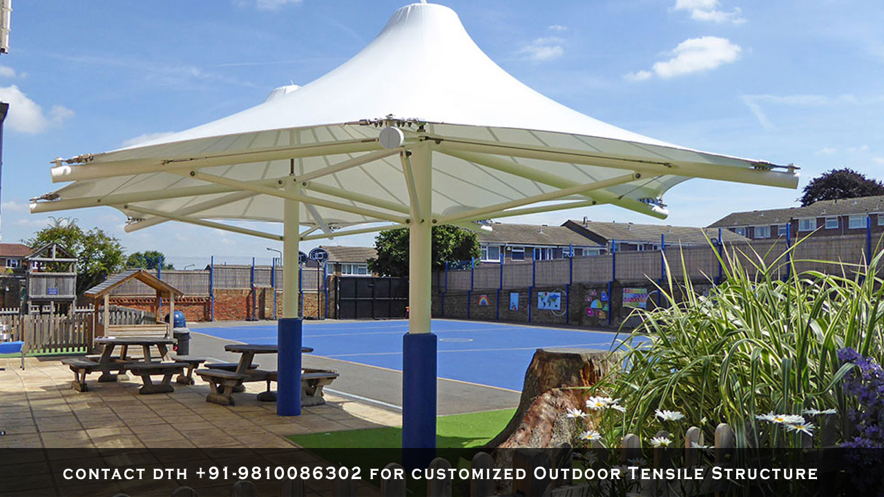 Outdoor-Tensile-Structure