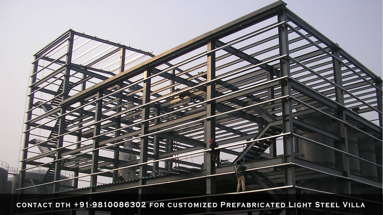 Prefabricated-Light-Steel-Villa