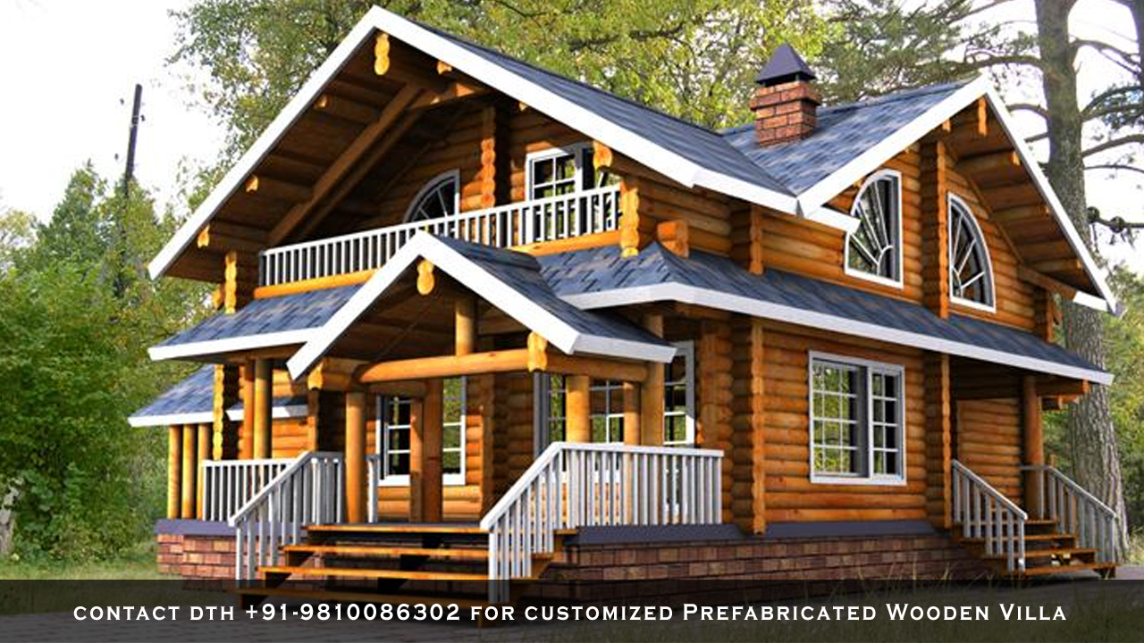 Prefabricated-Wooden-Villa